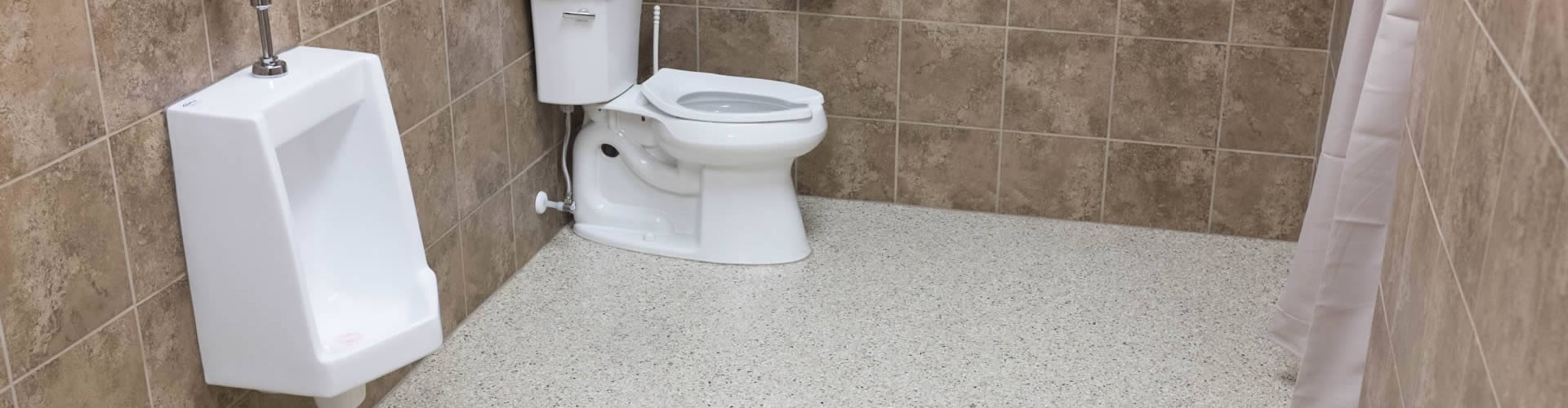 COMMERCIAL AND OFFICE BATHROOMS