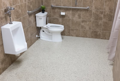 Commercial Floor Coatings Fort Worth Shop And Showroom Floor - Bathroom showroom fort worth